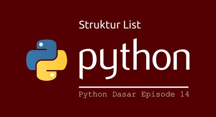 memahami list python