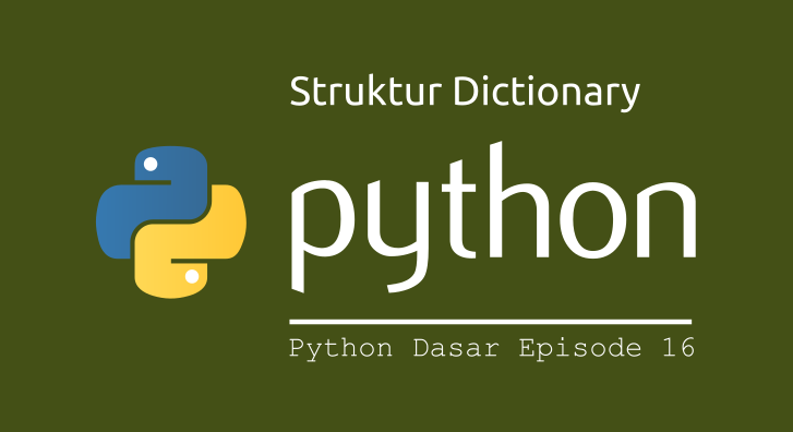 struktur dictionary python