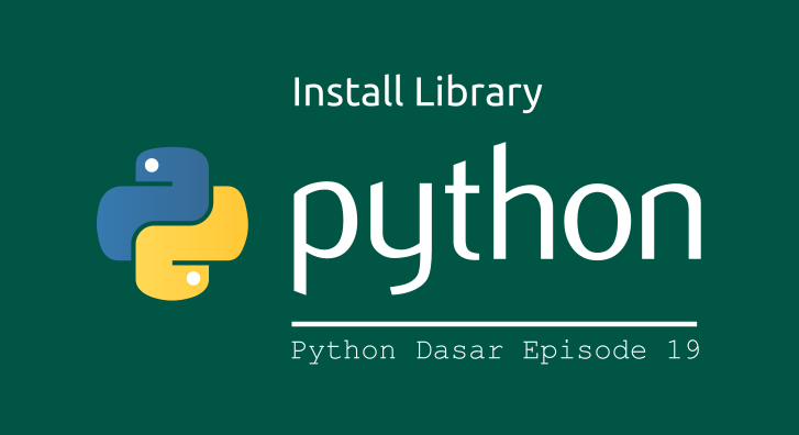 install library python