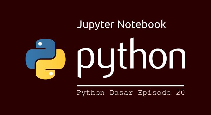 jupyter notebook python