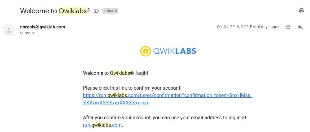 amazon web service qwiklabs