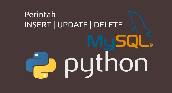 insert update delete mysql python