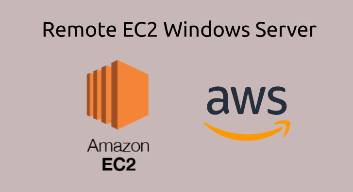 remote aws ec2 windows server