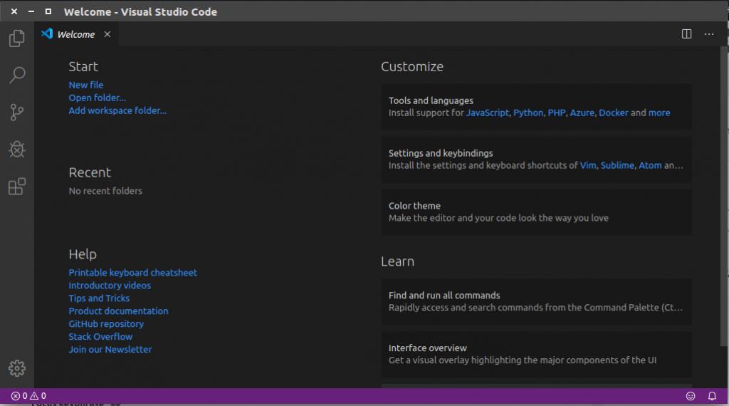 Pengenalan editor visual studio code