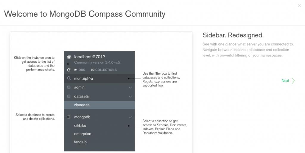 Tutorial MongoDB  GUI dengan mongodb compass