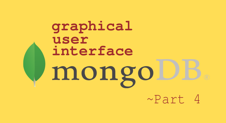 mongodb user interface