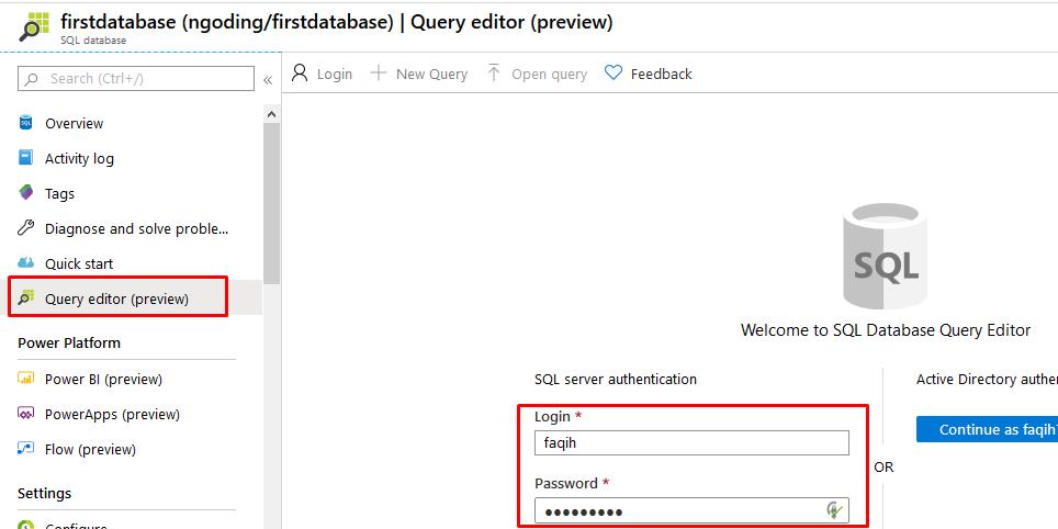 Cara Membuat SQL Database di Microsoft Azure