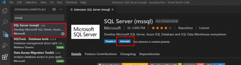 Cara Membuat SQL Database di Azure dengan Visual Studio Code
