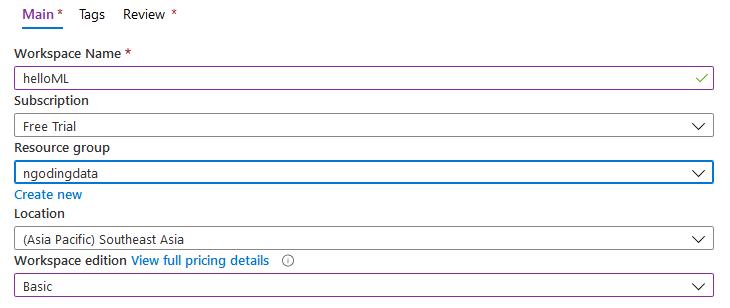 Cara menggunakan Microsoft Azure Machine Learning