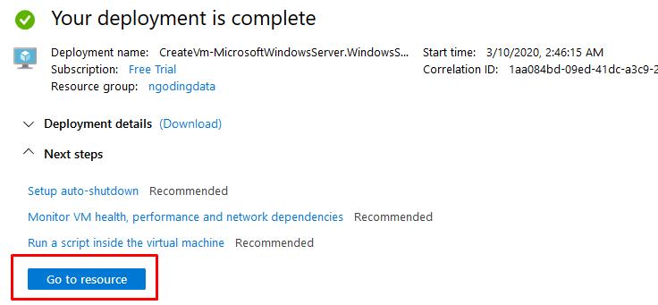 tutorial membuat virtual machine windows di azure