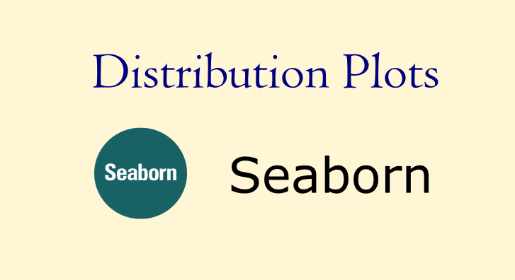 seaborn distribution plotss