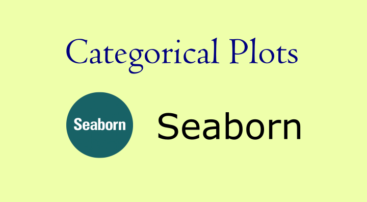 seaborn categorical data
