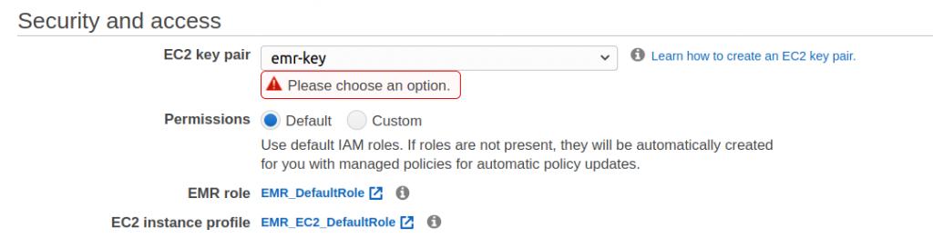 Membuat Hadoop Cluster di Amazon EMR