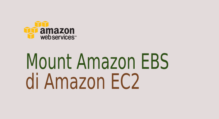 Cara Mount Amazon EBS di EC2