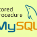 Stored Procedure mysql